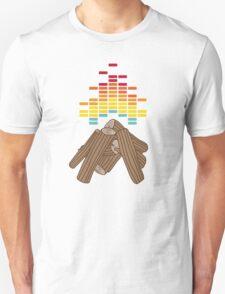 Crackling Fire Unisex T-Shirt