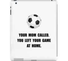 Soccer Game At Home iPad Case/Skin