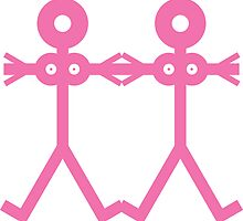 Love Women Pink Icon by Thisisnotme