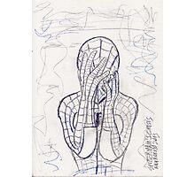 Spiderman's Crisis Photographic Print