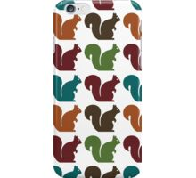 Squirrel pattern iPhone Case/Skin