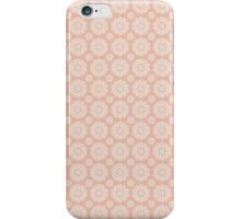 Football ShweShwe - Peach iPhone Case/Skin