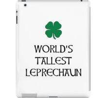Tallest Leprechaun iPad Case/Skin