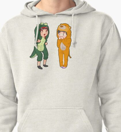 Dan and phil with onesies part 2 Pullover Hoodie