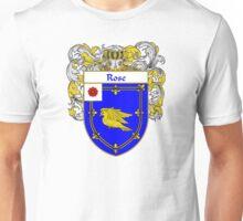 Rose Coat of Arms / Rose Family Crest Unisex T-Shirt