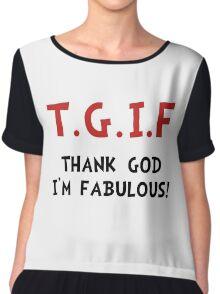 TGIF Fabulous Chiffon Top