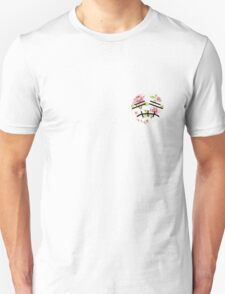 Floral Smash Bros Stitch Face  Unisex T-Shirt
