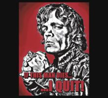 Tyrion: If this man dies... (Red background) by iJosh
