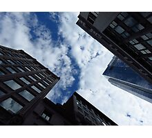 Boston Architecture and Sky Photographic Print