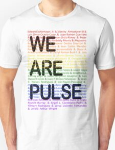 We Are Pulse Unisex T-Shirt