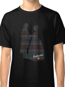 Outlander Wedding Silhouettes Classic T-Shirt