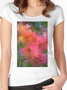 Rose 219 Women's Fitted Scoop T-Shirt