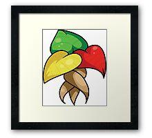 Neomagi Set- Saint's Leaves  Framed Print