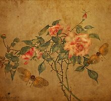 Roses - oriental style by © Kira Bodensted