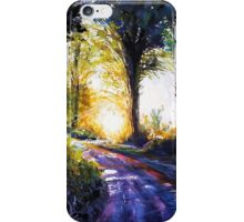 Light my way iPhone Case/Skin