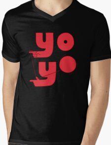 Yo Mens V-Neck T-Shirt