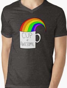 New cup of awesome Mens V-Neck T-Shirt