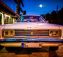 Old Ford Taunus under the moon by wulfman65