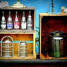 Bottles and Box by Paul Rees-Jones