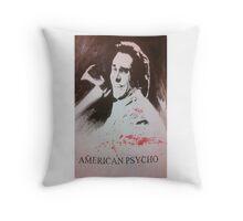 American Psycho Throw Pillow