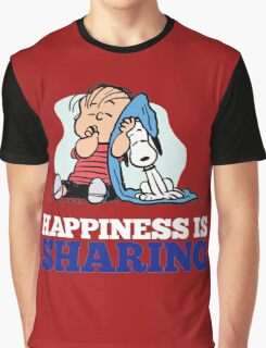Snoopy and Charlie Brown Quote Graphic T-Shirt