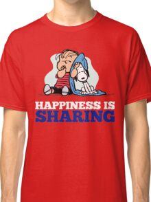Snoopy and Charlie Brown Quote Classic T-Shirt