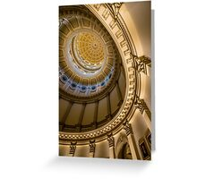 Colorado Capitol Building Rotunda - Denver Greeting Card