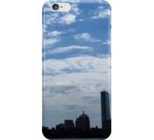 Boston Massachusetts Skyline  iPhone Case/Skin
