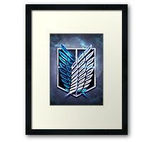Survey Corps! Framed Print