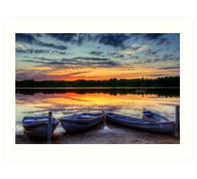 Reflections of Dusk Art Print