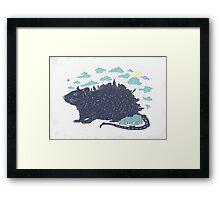 City Rat Framed Print