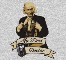 My first Doctor (Who) First 1st William Hartnell T-Shirt