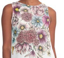 Summer Flowers Contrast Tank