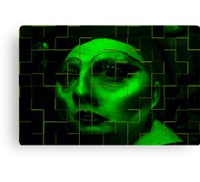 The Green Lady Canvas Print