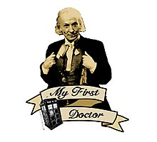 My first Doctor (Who) First 1st William Hartnell Photographic Print