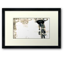 Taking it by Numbers - 56 Framed Print