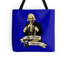 My first Doctor (Who) First 1st William Hartnell Tote Bag