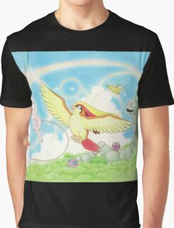 pokemon southern islands artwork Graphic T-Shirt