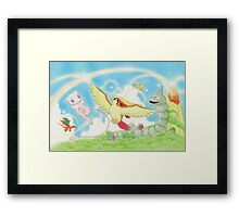 pokemon southern islands artwork Framed Print