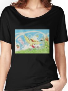 pokemon southern islands artwork Women's Relaxed Fit T-Shirt