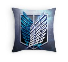 Survey Corps! Throw Pillow