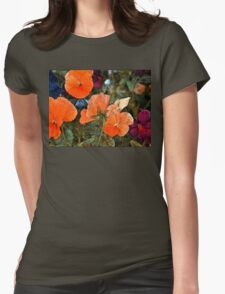 Pansy 10 Womens Fitted T-Shirt