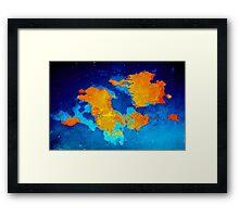 Pangea Framed Print