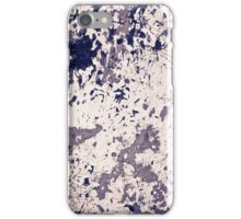 Painted grunge iPhone Case/Skin