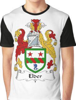 Elder Coat of Arms / Elder Family Crest Graphic T-Shirt