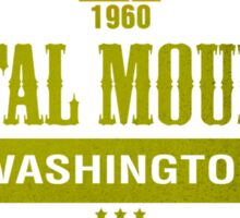 Crystal Mountain Ski Resort Washington Sticker