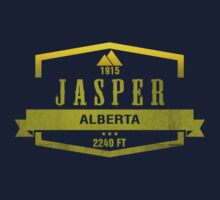 Jasper Ski Resort Alberta One Piece - Long Sleeve
