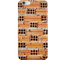 Orange Bricks iPhone Case/Skin