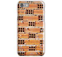 Orange Bricks iPhone Case/Skin