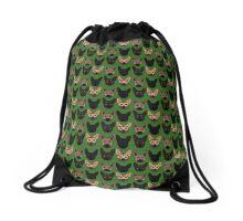 Pixel German Shepherds! Drawstring Bag